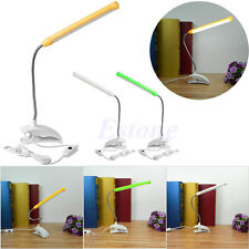 USB 13 LED Light Clip-on Clamp Bed Table Study Desk Reading Lamp Flexible
