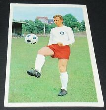 STRAUSS HAMBOURG HAMBURG HSV FUSSBALL 1966 1967 FOOTBALL CARD BUNDESLIGA PANINI