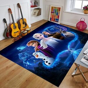 Disney Rugs Anti-Slip RUG Soft Carpet Mat Living Room Floor Bedroom Cartoon Rug