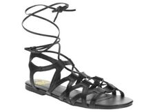 Faded Glory Women's Gladiator Sandals Size 9 Black. NEW WITH TAG & HOOK!