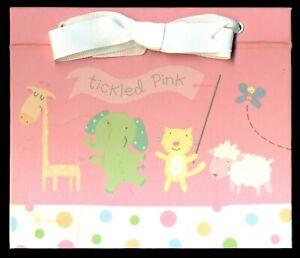 "Hallmark Tickled Pink Girls Photo Album BBA4106 FOR (52) 4"" X 6"" PICTURES"