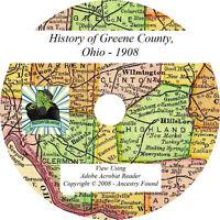 1908 History & Genealogy of GREENE County Ohio OH