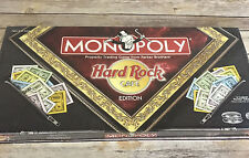 Monopoly Hard Rock Cafe Edition 2002 Parker Brothers New Sealed