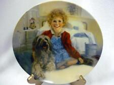 Mib Annie And Sandy Chambers Collector Plate Columbia Pictures 1St 1982 Orphan