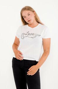 ZOE KARSSEN Women's T-Shirt Size M RRP: 69 EUR