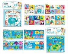"First Steps"" Baby Waterproof Floating Bath Book Educational & Fun"