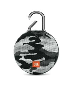JBL Clip 3 Black Camo Portable Bluetooth Speaker Brand New In The Box