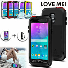 Waterproof Metal Mobile Phone Cases, Covers & Skins for Samsung Galaxy Note 4