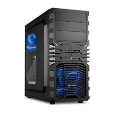 Sharkoon Vg4-w Midi-tower Nero vane portacomputer