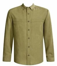 Polyester Plaids & Checks Long Sleeve Casual Shirts for Men