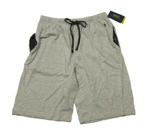 Polo Ralph Lauren Men's Gray Contrast Pocket Relaxed Fit Sleep Shorts