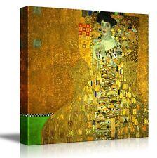 "Portrait of Adele Bloch-Bauer I by Gustav Klimt-Canvas Print Wall Art-36"" x 36"""