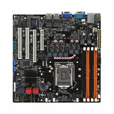 ASUS P7F-M S1156 Scheda Madre Server DDR3 Matx 1U Input / O Shield E SATA Cavi
