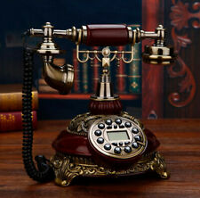 New Rotary Phone Antique Vintage Old Fashioned Telephone American Style Retro
