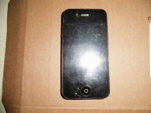 iPhone 4s, schwarz, A1387, Gehäuse beschädigt, für Bastler/Ersatzteil