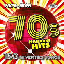 VOCAL-STAR 70'S HITS KARAOKE CDG CD G DISC SET 150 SONGS FOR KARAOKE MACHINE A