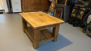 Indigo Plank coffee table