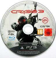 Crysis 3 (DISC ONLY) PS3 Playstation 3 PAL UK, FREE 1st CLASS POST, 2013 III
