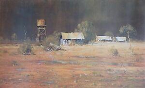 Doug  Sealy / outback /  Australian  Bush / Water Tank / Very  Large, Massive.