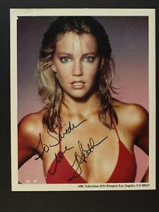 HEATHER LOCKLEAR (MELROSE PLACE~SPIN CITY) AUTOGRAPH 8 x 10 PHOTO~