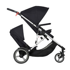 Phil & Teds New Voyager Stroller & Double Kit Black Brand New Model!! Open Box!!