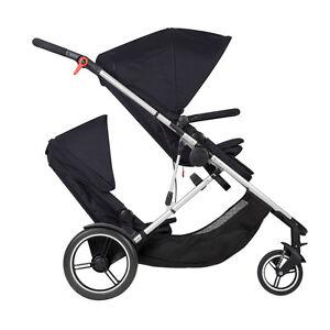 Phil & Teds New Voyager Stroller & Double Kit Black Brand Newl!!