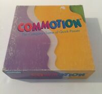 "Vintage ""Commotion"" Game by Parker Brothers - 1990 Edition - 100% Complete!"