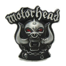 Biker Motorhead Bull Cattle Skull Skeleton Horn Belt Buckle Mens Music Metal