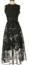 STYLEWE MISSLOOK LACE COCKTAIL DRESS UK SIZE 14 BLACK MIX