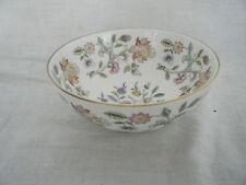 C4 Porcelain Minton Haddon Hall Finger Bowl 14x6.5cm, golden rim 3E4C