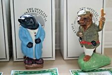 Wade Wind in the Willows Figurines x 4  Special Collectors cClub 2000 Edition
