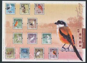 China Hong Kong 2006 Mini S/S Bird Definitive stamps