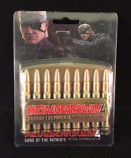 NUOVO Metallo Gear solido Giochi Retrò Metallo Fibbia della Cintura RARA PS1 PS2 Playstation