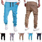 Mens Sweatpants Harem Pants Slacks Casual Jogger Dance Sportwear Baggy Trousers