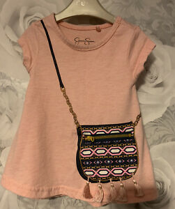 Girls Age 12 Months (9-12 Months ) Jessica Simpson Tunic Top