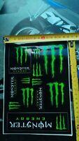 2x satz 24 aufkleber Monster Energy Yamaha Aufkleber NEU