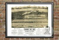 Old Map of Riverhead, NY from 1903 - Vintage New York Art, Historic Decor