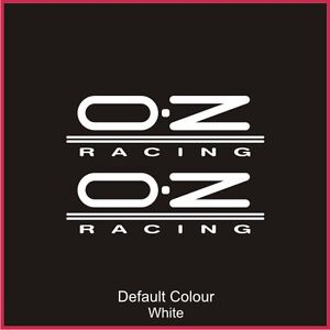 Oz Racing Decals x2, Vinyl, Sticker, Graphics,Car, Brakes, Racing, Stack,N2074