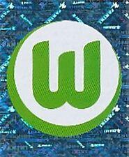 N°468 LOGO BADGE # VfL.WOLFSBURG STICKER PANINI BUNDESLIGA FUSSBALL 2008
