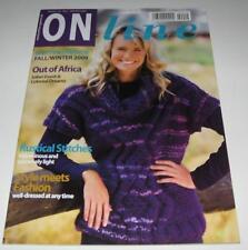 ON LINE WINTER Women knitting yarn pattern book #19 with 40 Designs