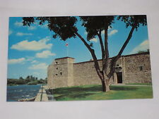 VINTAGE Fort Chambly National Historic Park Postcard Chambly, Quebec Bastion
