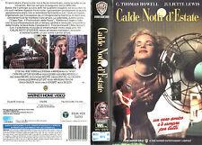 Calde notti d'estate (1993) VHS