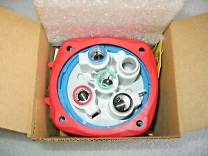 Meltric 33-68043 Switch Rated Inlet Plug Circuit Disconnect DS60 3P+G 480V 60A