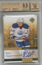 11-12 Ultimate Ryan Nugent-Hopkins Rookie Card RC BGS 9.5 Auto 10 Gem Mint 71/99