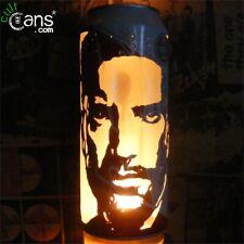 More details for trent reznor beer can lantern! nine inch nails, nin pop art lamp unique gift!