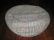 Shandon Newsboy Cabbie Cap Houndstooth Check Ireland Size 7 Medium Vintage