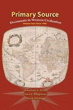Primary Sources Western Civilization, Volume 2 (2nd Edition)