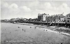 Burnham-on-Sea.Sea & Esplanade-Orig RPPC -(Pub:Unknown)- VGC/Near Mint !