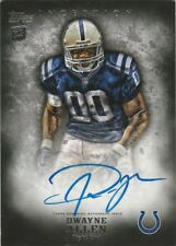 2012 Topps Inception Dwayne Allen Colts Auto Mint!