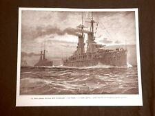 WW1 Prima guerra mondiale 1914-1918 Nave Caio Duilio, Andrea Doria e L.Da Vinci